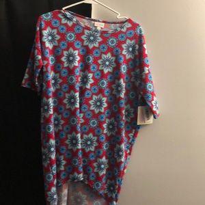 Lularoe Irma, Xxs Hi-low shirt